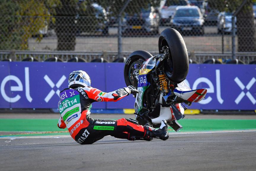 Mattia Casadei, Ongetta SIC58 Squadracorse, SHARK Helmets Grand Prix de France