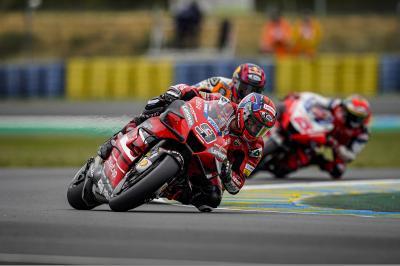 Ducati ritrova fiducia e colora di rosso la Q2 a Le Mans