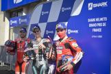 Fabio Quartararo, Jack Miller, Danilo Petrucci, SHARK Helmets Grand Prix de France