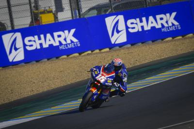 Roberts runs the rule in FP3 as Marini returns for P9