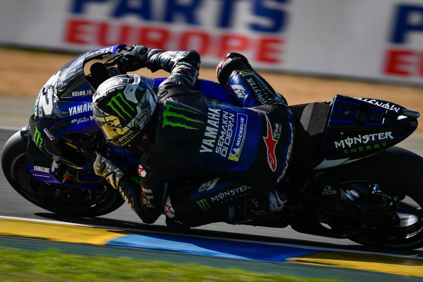 Maverick Vinales, Monster Energy Yamaha MotoGP, SHARK Helmets Grand Prix de France