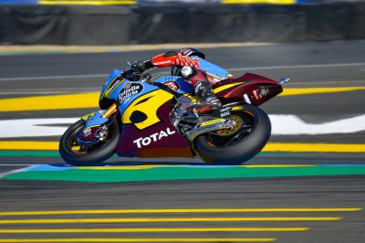 Lowes quickest by a distance in Moto2™ Warm Up