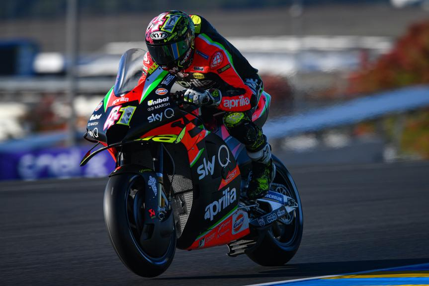 Aleix Espargaro, Aprilia Racing Team Gresini, SHARK Helmets Grand Prix de France