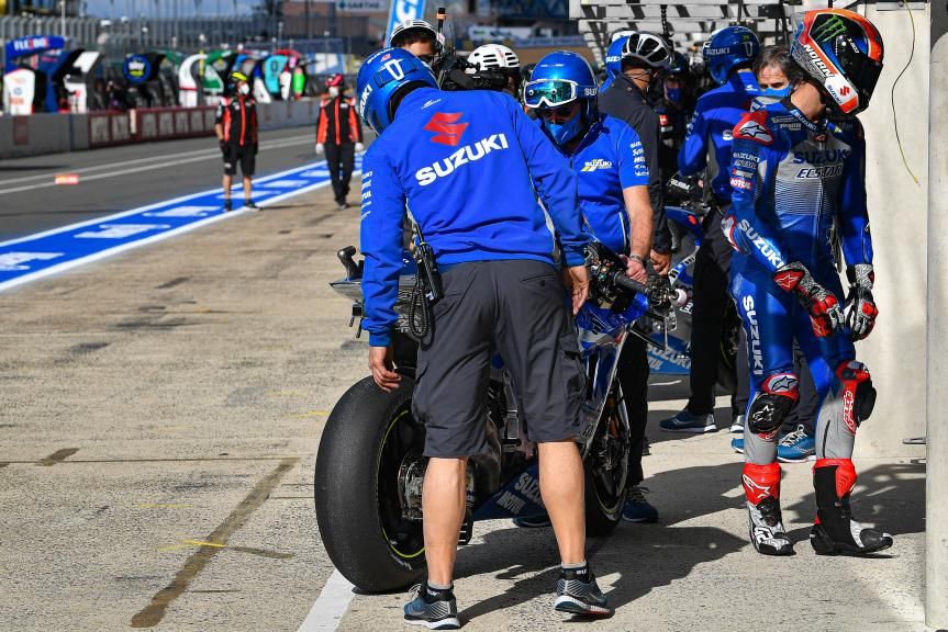 Alex Rins, Team Suzuki Ecstar, SHARK Helmets Grand Prix de France
