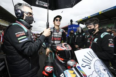 Quartararo extends title lead despite 'tough' wet debut