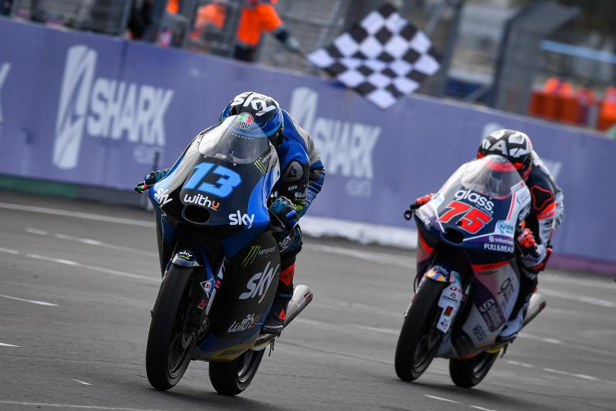 Celestino Vietti, Albert Arenas, SHARK Helmets Grand Prix de France