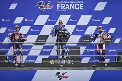 """""""Il titolo è il nostro obiettivo"""" - Le voci del podio Moto3™"""