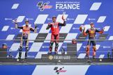 Danilo Petrucci, Alex Marquez, Pol Espargaro, SHARK Helmets Grand Prix de France