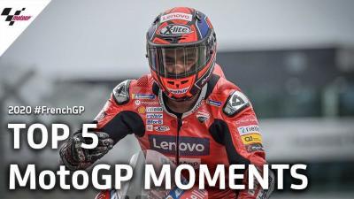 El Top 5 de momentos decisivos del GP de Francia