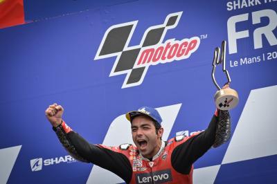 Petrucci vuelve a ganar y Alex Márquez suma su primer podio