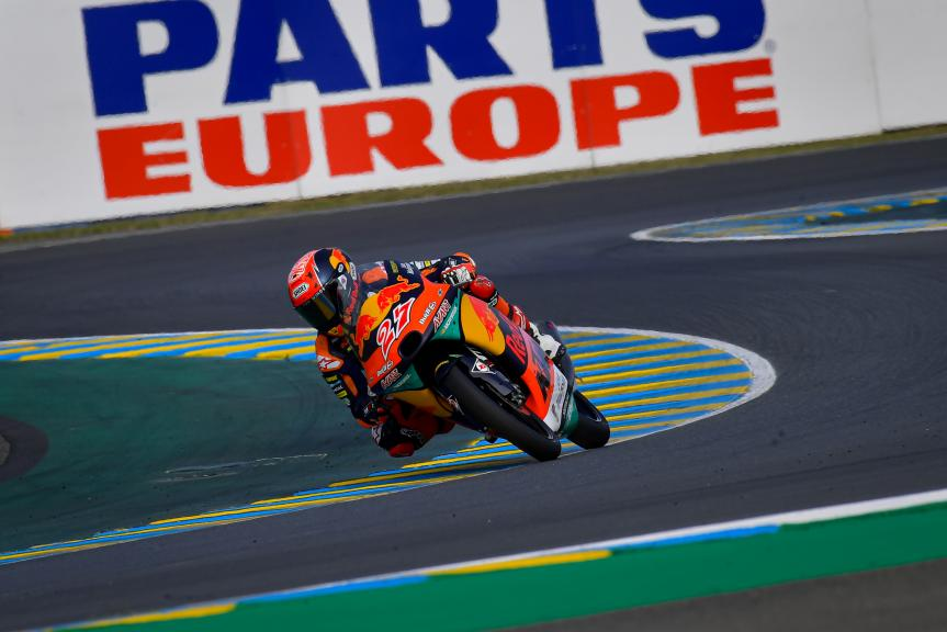 Kaito Toba, Red Bull KTM Ajo, SHARK Helmets Grand Prix de France