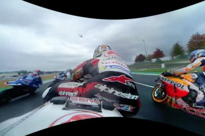 Start of the French Grand Prix in 360 degrees with Nakagami
