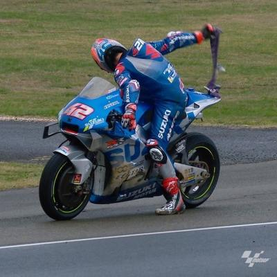 It was a strange few minutes for @alexrins The Spaniard