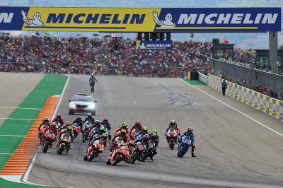 Michelin® sponsor titre du Grand Prix d'Aragón