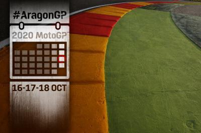 Gli orari del Gran Premio Michelin® de Aragon