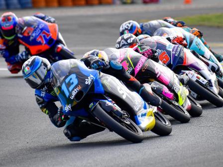 Moto3, Race, SHARK Helmets Grand Prix de France