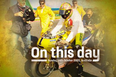 On This Day: Rossi becomes a premier class World Champion!