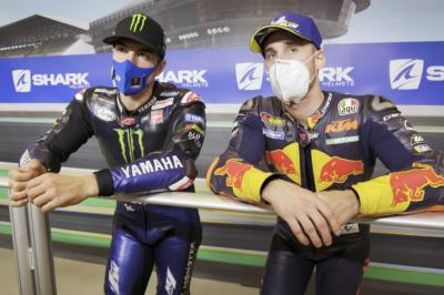 Unseen: Championship chatter with Viñales and Pol Espargaro