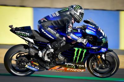 Viñales fastest in delayed Aragon MotoGP™ FP1