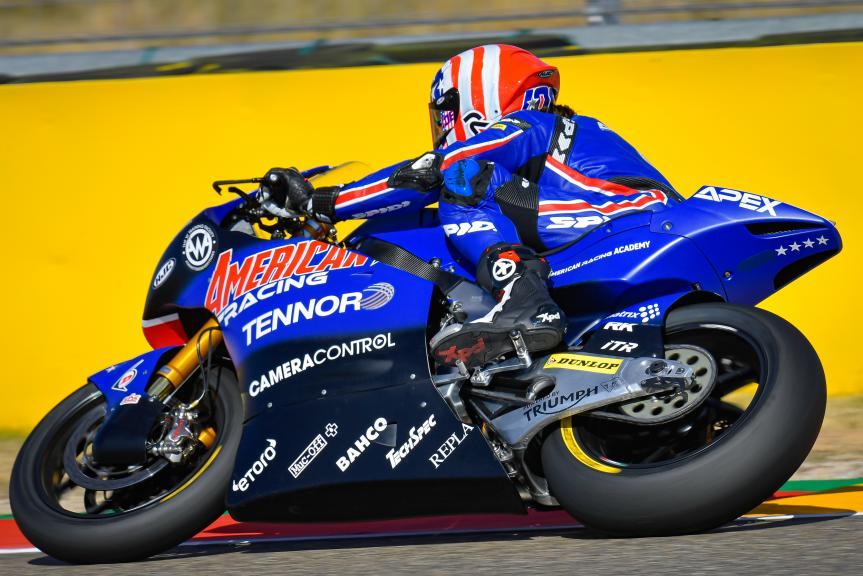 Joe Roberts, Tennor American Racing, Gran Premio Michelin® de Aragón