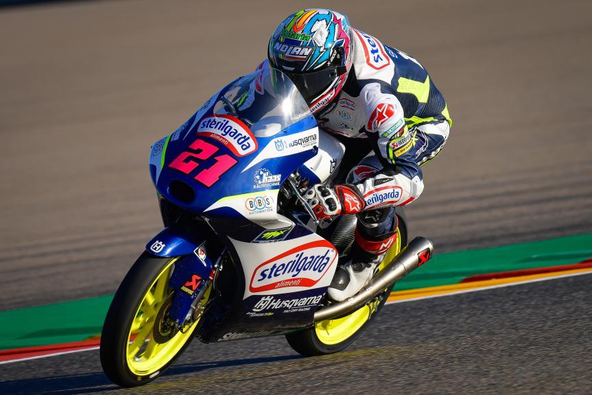 Alonso Lopez, Sterilgarda Max Racing Team, Gran Premio Michelin® de Aragón