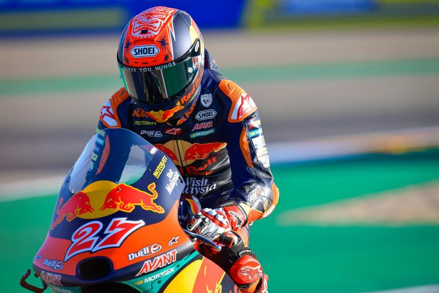Kaito Toba, Red Bull KTM Ajo, Gran Premio Michelin® de Aragón