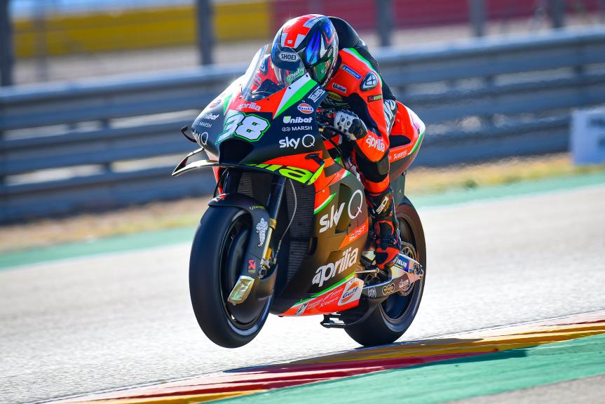 Bradley Smith, Aprilia Racing Team Gresini, Gran Premio Michelin® de Aragón