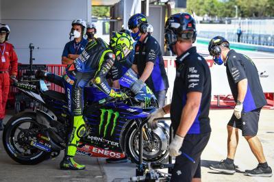 Pas de remplacement prévu pour Rossi en Aragón !