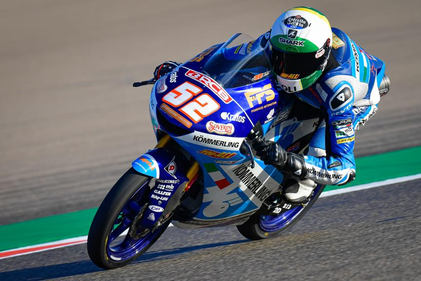 Jeremy Alcoba, Kőmmerling Gresini Moto3, Gran Premio Michelin® de Aragón