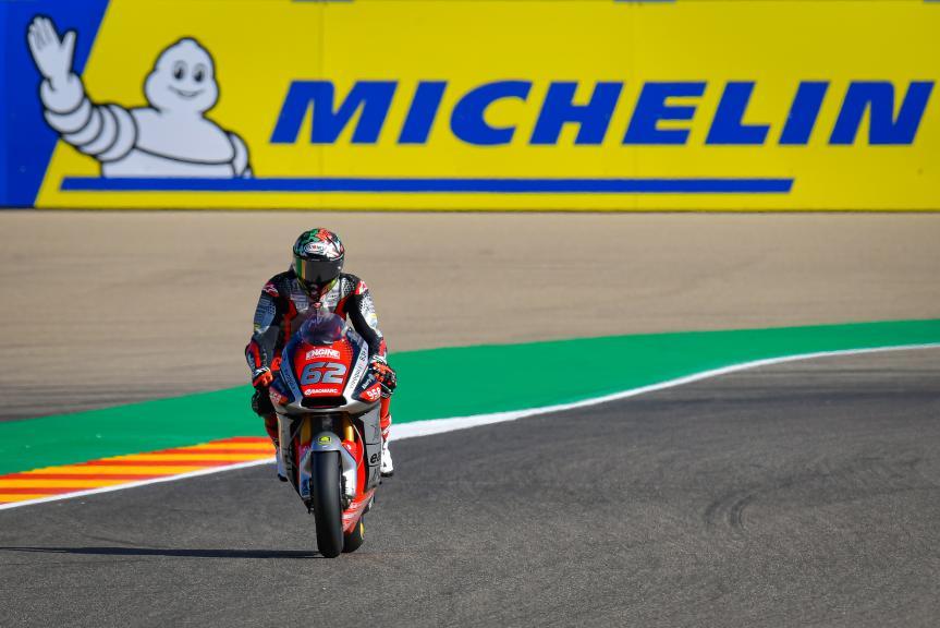 Stefano Manzi, MV Agusta Temporary Forward, Gran Premio Michelin® de Aragón