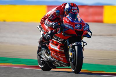 Petrucci domina la Q1 al GP di Aragon