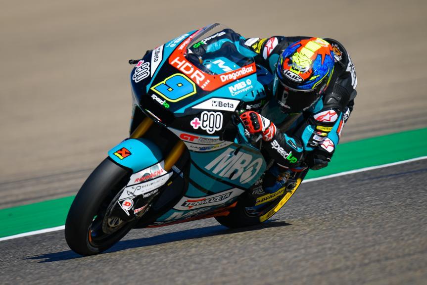 Jorge Navarro, Termozeta Speed Up, Gran Premio Michelin® de Aragón