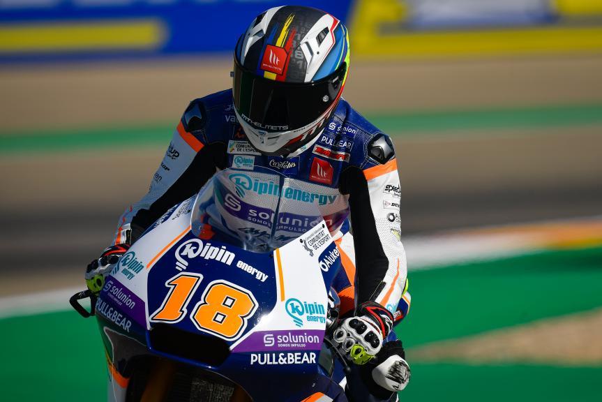 Xavier Caredelus, Inde Aspar Team Moto2, Gran Premio Michelin® de Aragón