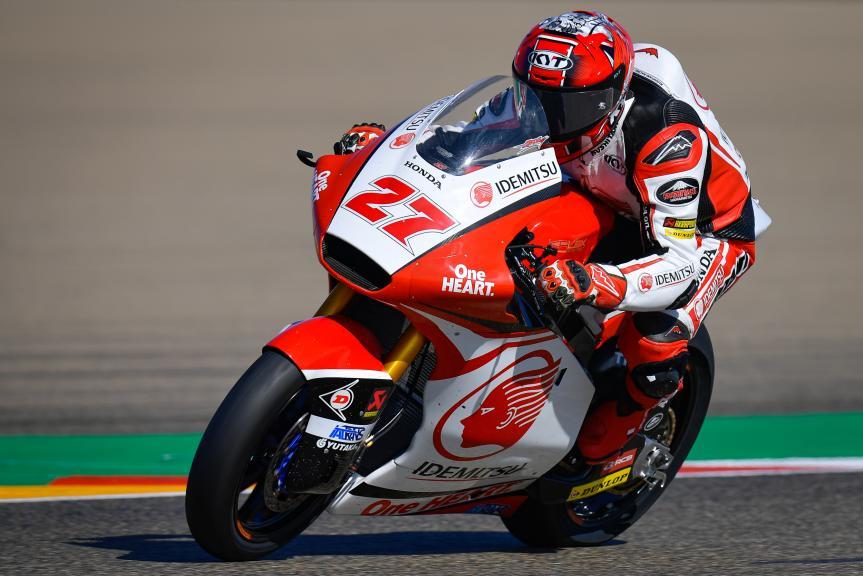 Andi Farid Izdihar, Idemitsu Honda Team Asia, Gran Premio Michelin® de Aragón