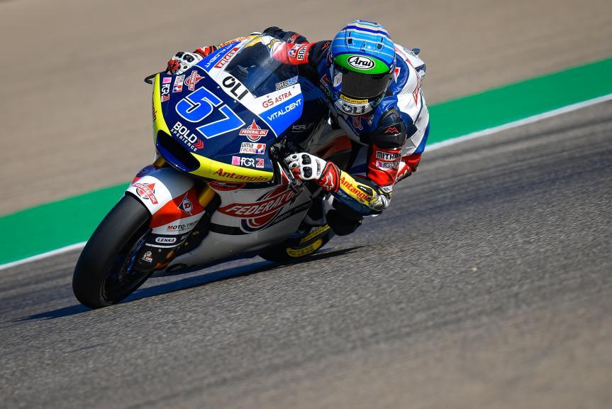 Edgar Pons, Federal Oil Gresini Moto2, Gran Premio Michelin® de Aragón