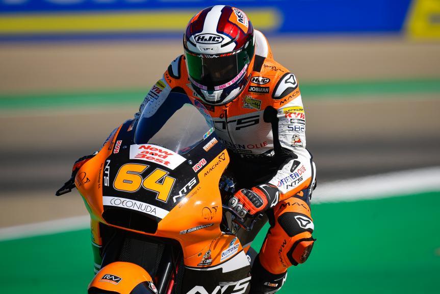 Bo Bendsneyder, NTS RW Racing GP, Gran Premio Michelin® de Aragón
