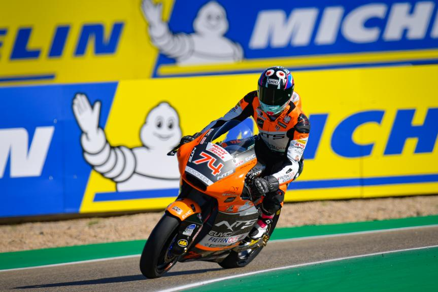 Piotr Beisiekirski, NTS RW Racing GP, Gran Premio Michelin® de Aragón