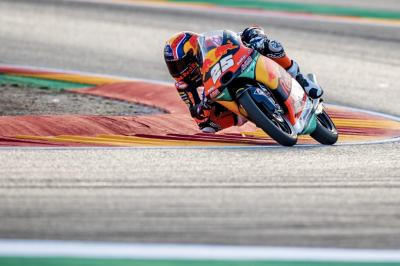 Fernandez remains fastest as Migno tops Moto3™ FP3