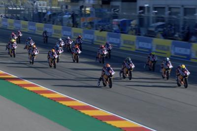 Red Bull MotoGP Rookies Cup: Gara 1 ad Aragona