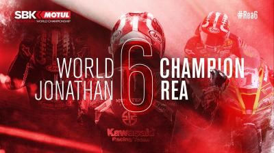 Simply unstoppable: Rea is the 2020 WorldSBK Champion