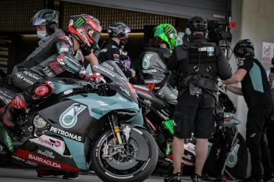 COMING UP: Quartararo, wounded warrior unfazed in Aragon