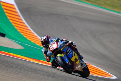 Lowes führt das Moto2™ Warm-Up in Aragon an