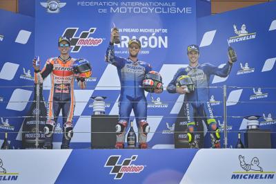 MotoGP™: Die Stimmen der Top 3 nach dem Rennen in Aragon