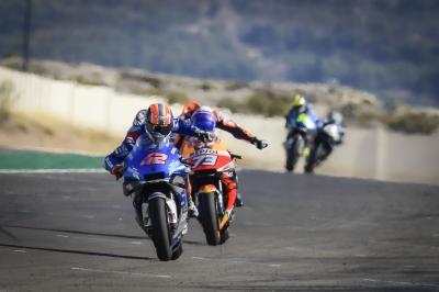 Rins schlägt Marquez in einem großartigen MotoGP™-Thriller
