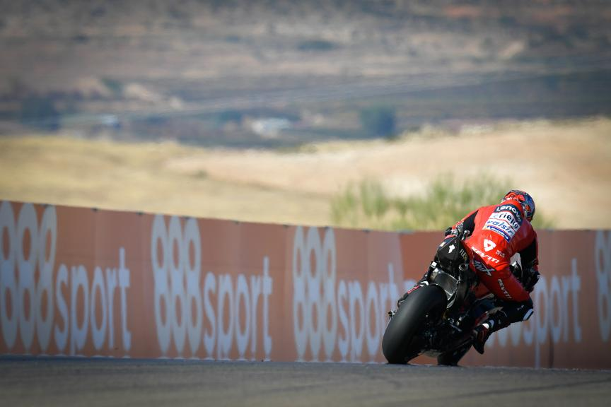 Danilo Petrucci, Ducati Team, Gran Premio Michelin® de Aragón