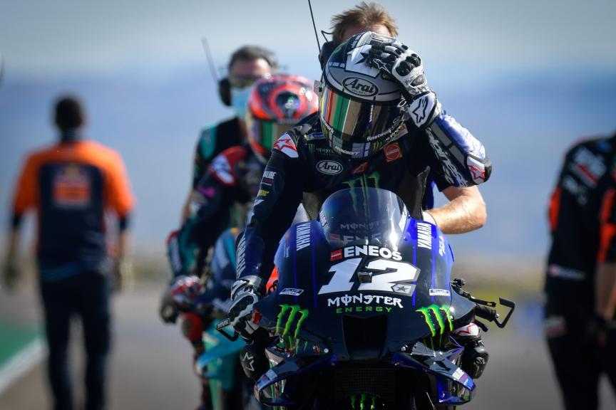 Maverick Vinales, Monster Energy Yamaha MotoGP, Gran Premio Michelin® de Aragón