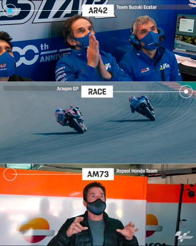 the tension of Davide Brivio and Julia Marquez on the