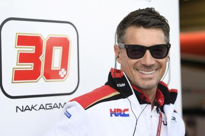 'He deserves it' - Cecchinello on Nakagami's HRC renewal