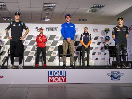 Off-Track, Gran Premio Liqui Moly de Teruel
