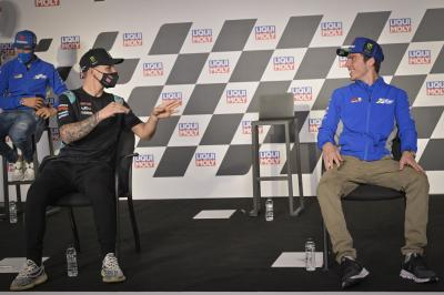 Role reversal: Mir and Quartararo on the pressures of 2020